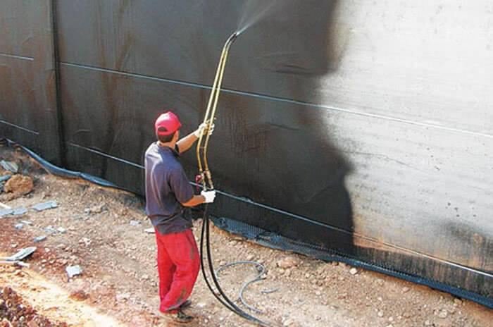 Проникающая гидроизоляция снаружи здания