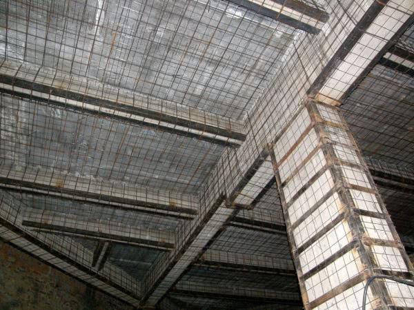 Усиление жб конструкций здания