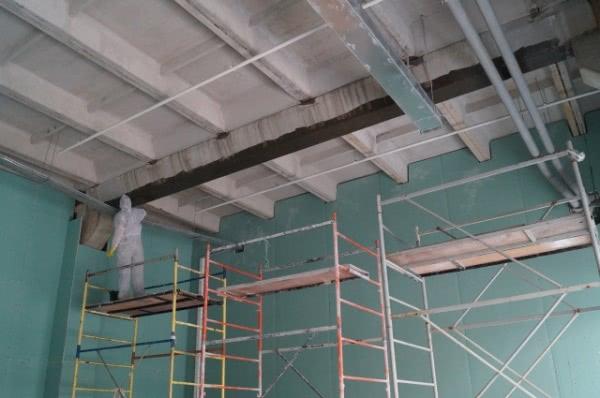 Проведение работ по усилению конструкций