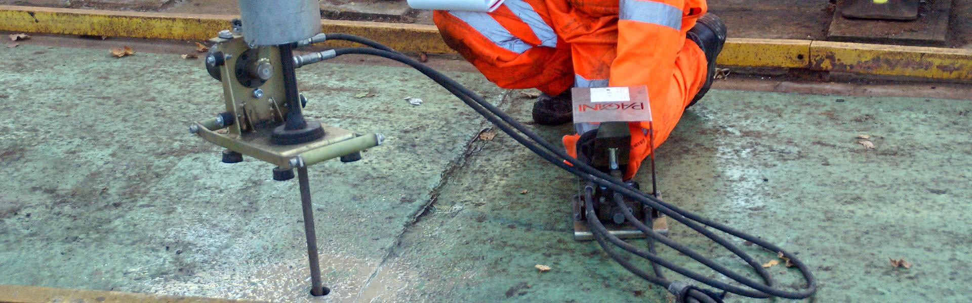 Работы по инъектированию фундаментных плит