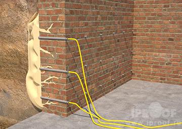 Инъектирование стен полиуретановыми составами