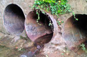 Гидроизоляция канализационного коллектора