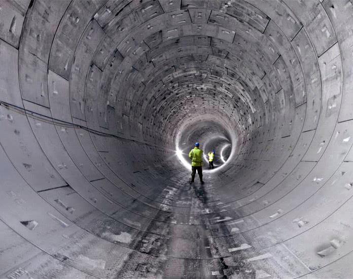 Фото - Гидроизоляция промышленных и коммунальных тоннелей