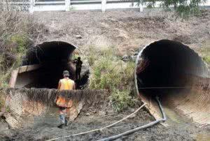 Фото - Два тоннеля с бетонной обделкой