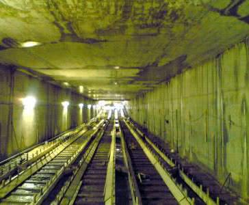 Фото железнодорожного тоннеля