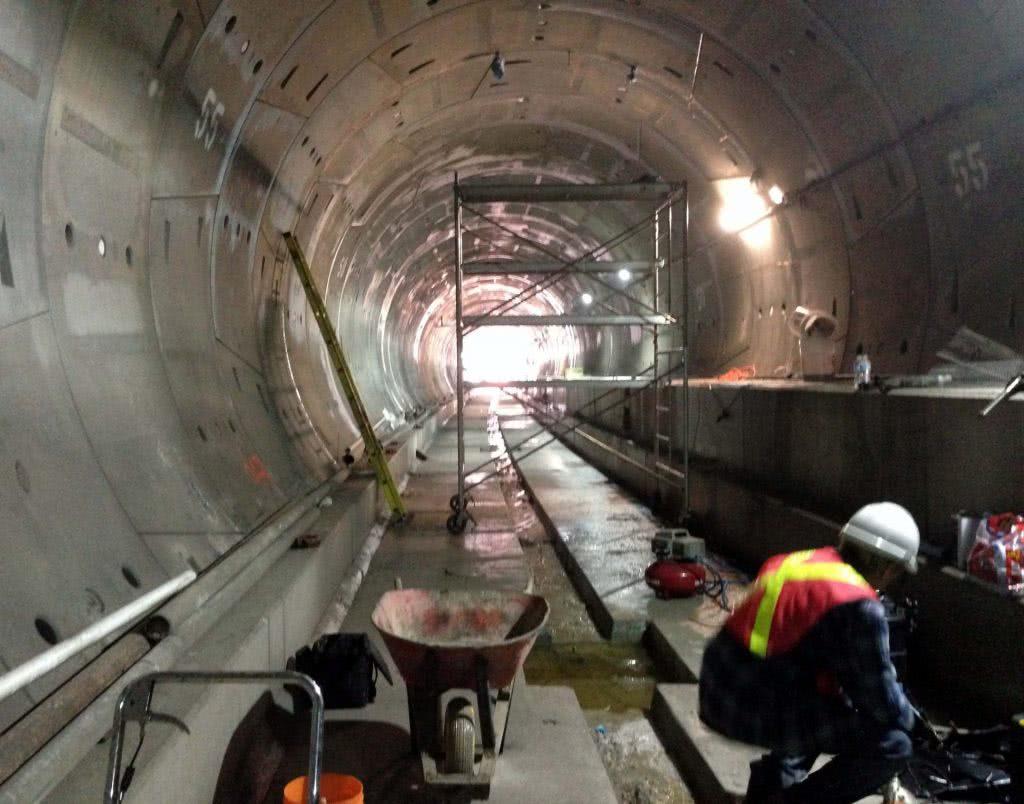 Фото тоннеля метро