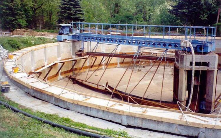 Гидроизоляция бетонных очистных сооружений