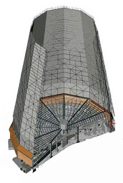 Схема ремонта башенных градире