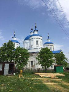Фото - Ремонт успенской церкви