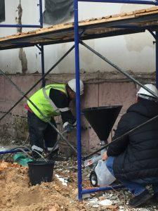 Инъектирование трещин в фундаменте на объекте культурного наследия