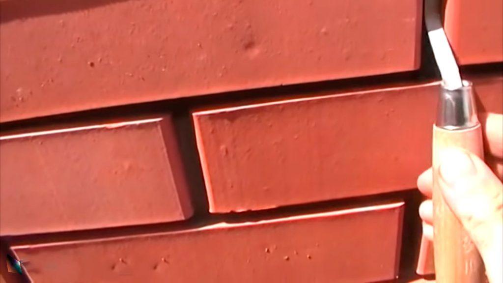 Расшивка швов кладки