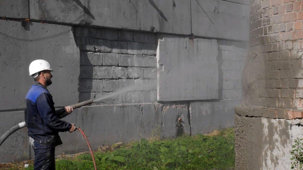 Торкретирование бетона в Москве
